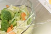 キャベツのレンジサラダの作り方1