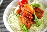 豚肉のショウガ丼