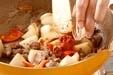 砂肝のピリ辛炒めの作り方2