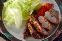 甘辛牛肉のコンニャク巻き