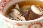 シイタケの中華スープ