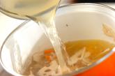 きんぴらみそ汁の作り方1