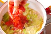タコのトマトスープの作り方2