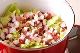 タコのトマトスープの作り方1