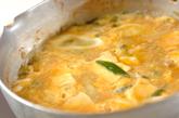みそ煮豆腐の卵とじ丼の作り方3