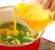 鶏の唐揚げ卵とじの作り方3