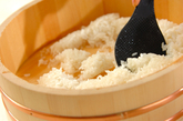 カツオのにぎり寿司の作り方1