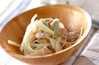 玉ネギのココナッツサラダ
