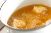 エビとタケノコ団子汁の作り方2