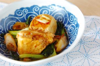 豆腐のオイスター炒め