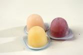 冷凍ミニカップゼリーの作り方1