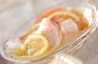 大根のレモンマリネ