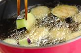 ナスとカニカマのお浸しの作り方1