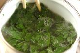 モロヘイヤ入り納豆汁の作り方1