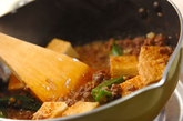 厚揚げとひき肉の炒め物の作り方3