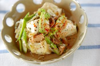 アンチョビ豆腐