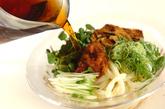 焼き油揚げの冷やし麺の作り方4