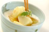 桃ヨーグルトの作り方1