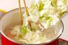 タラ・みそ味のスープの作り方3