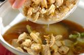 白菜とアサリのサッと煮の作り方2