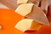 ポテトアップルスープの下準備3