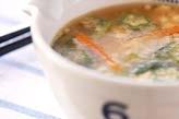 野菜のトロロ汁