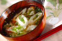 卵白のちくわスープ
