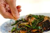 サバのニンニク炒めの作り方2