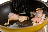 空心菜のオイスター炒めの作り方1