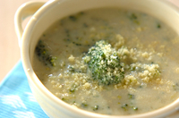 ブロッコリーのポタージュスープ