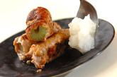 セロリの豚肉梅みそ巻きの作り方3