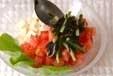 豆腐トマトサラダの作り方3