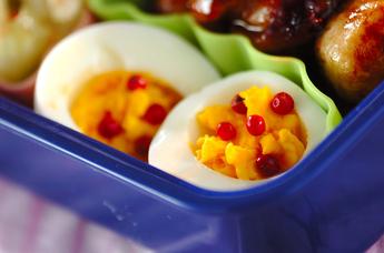 かわいいゆで卵