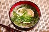 ハマグリ素麺汁