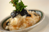 たたき長芋のワサビしょうゆ和えの作り方2