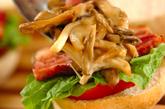 キノコたっぷり、ヘルシーハンバーガーの作り方9