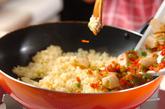 ホタテ入りカレードリアの作り方2