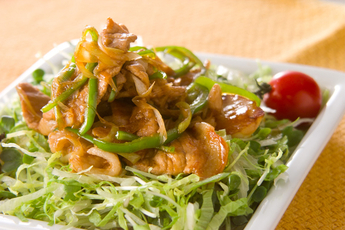 豚肉のママレード炒め