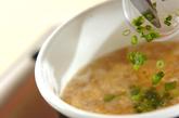 卵雑炊の作り方3