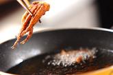 イカゲソの磯風味揚げの作り方1
