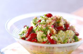 ムラサキのサラダ