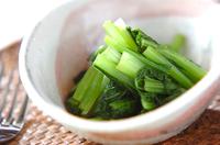小松菜のカラシ和え
