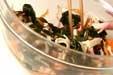 ワカメの香り酢の物の作り方2