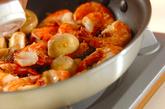 エビのハーブガーリックオイル焼きの作り方2