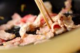 焼き白菜の豚肉黒酢あんかけの作り方2