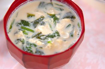 豆腐の豆乳汁