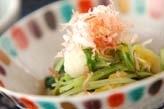 水菜と白菜のお浸し