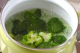 水菜のサラダの下準備3