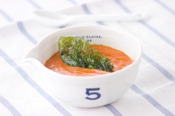 なめらかトマトスープ