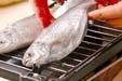 ウオゼの塩焼きの作り方1